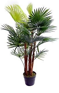 Meilleur artificielle 1,5/m 150/cm Areca palmier Tropical v/éranda Bureau Int/érieur Ext/érieur Jardin Plante