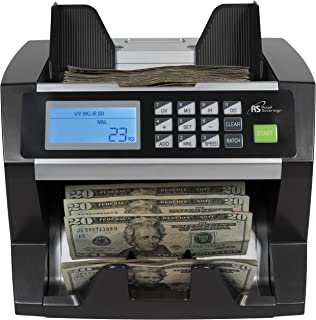 Royal Sovereign High Speed Money Counting Machine, with UV, MG, IR Counterfeit Bill Detector (RBC-1515-ADBK)