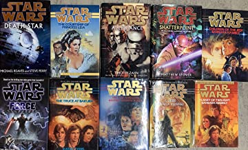 Star Wars Hardcover Novel Collection 10 Book Set