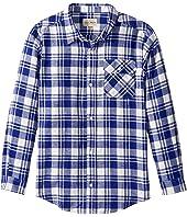 Lucky Brand Kids - Long Sleeve Plaid Shirt (Toddler)