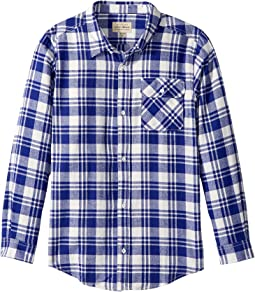 Lucky Brand Kids - Long Sleeve Plaid Shirt (Toddler)