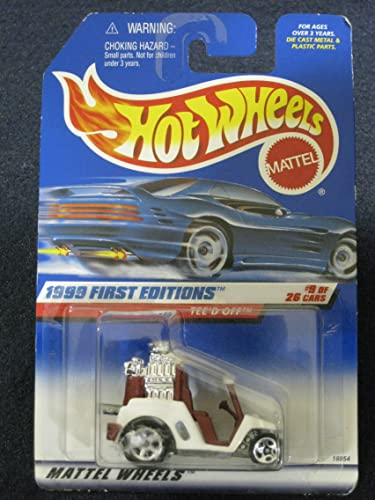 promociones Hotwheels Tee'd Off-1999 1st Editions  9 of 26    683  los clientes primero