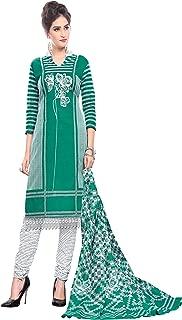 Minu salwar Cotton Printed Suit sets Green(Pbeauty_6004_0)