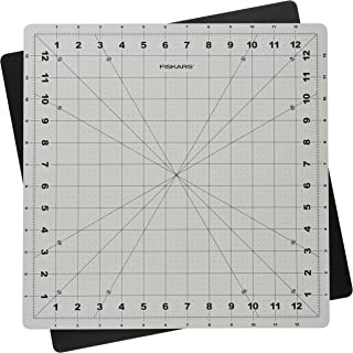 Fiskars 14x14 Inch Self Healing Rotating Cutting Mat
