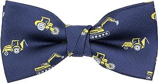 OCIA Boys Pattern Bow Ties Kids Tuxedo Pre-tied Bowties Party & Wedding