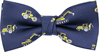 OCIA Boys Pattern Bow Ties Kids Tuxedo Pre-tied Bowties Party & Wedding