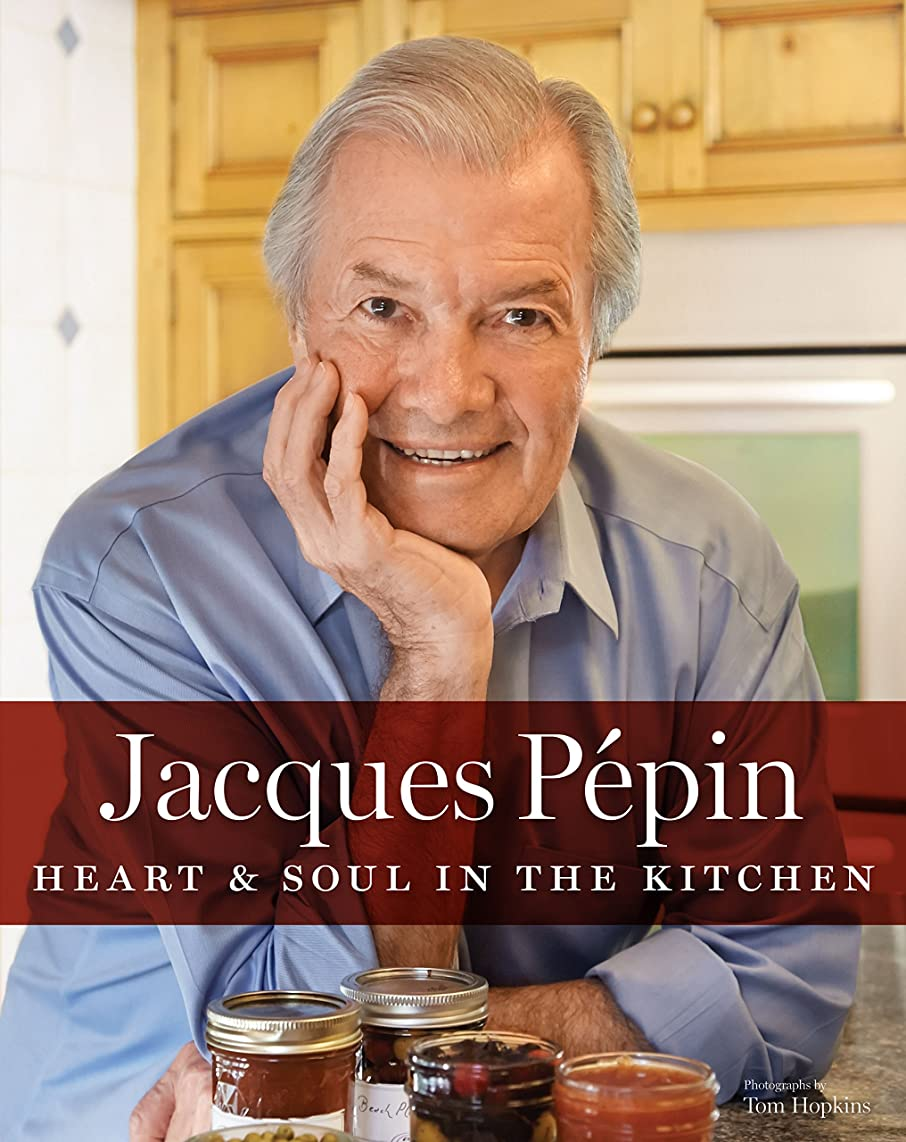 ダイバーじゃないできたJacques Pépin Heart & Soul in the Kitchen (English Edition)