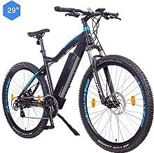 NCM Moscow Bicicleta eléctrica de montaña, 250W, Batería