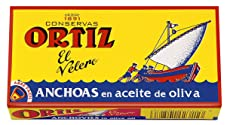 Ortiz Anchovy Fillets in Olive Oil, 47.5 g