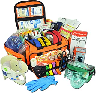 Lightning X Extra Large Medic First Responder EMT Trauma Bag Stocked First Aid Deluxe Fill Kit C