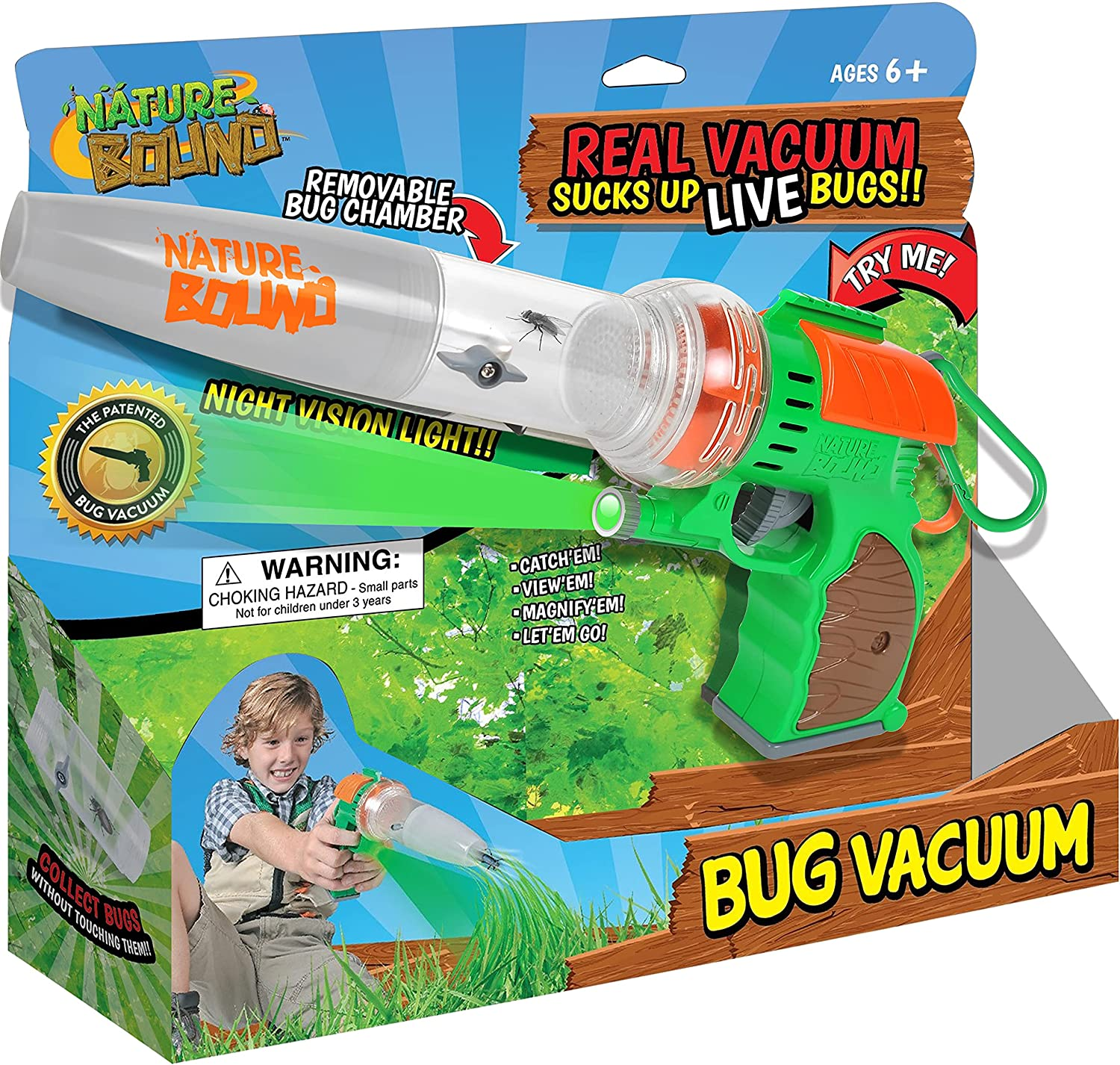 Nature Bound Ranking Limited time trial price TOP4 Bug Catcher Toy Eco-Friendly Catch and Vacuum