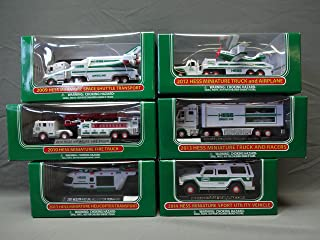 Hess Truck Mini / Miniature Lot Set 2009, 2010, 2011, 2012, 2013, and 2014