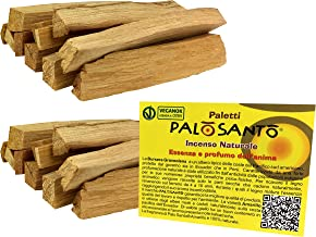 Palo Santo Sticks from Perù - Natural Incense Sticks for Anxiety, Meditation and Protection – Ideal for Purifying and Cleansing Your Space – Holy Wood - q.ty 7 oz - 200 g