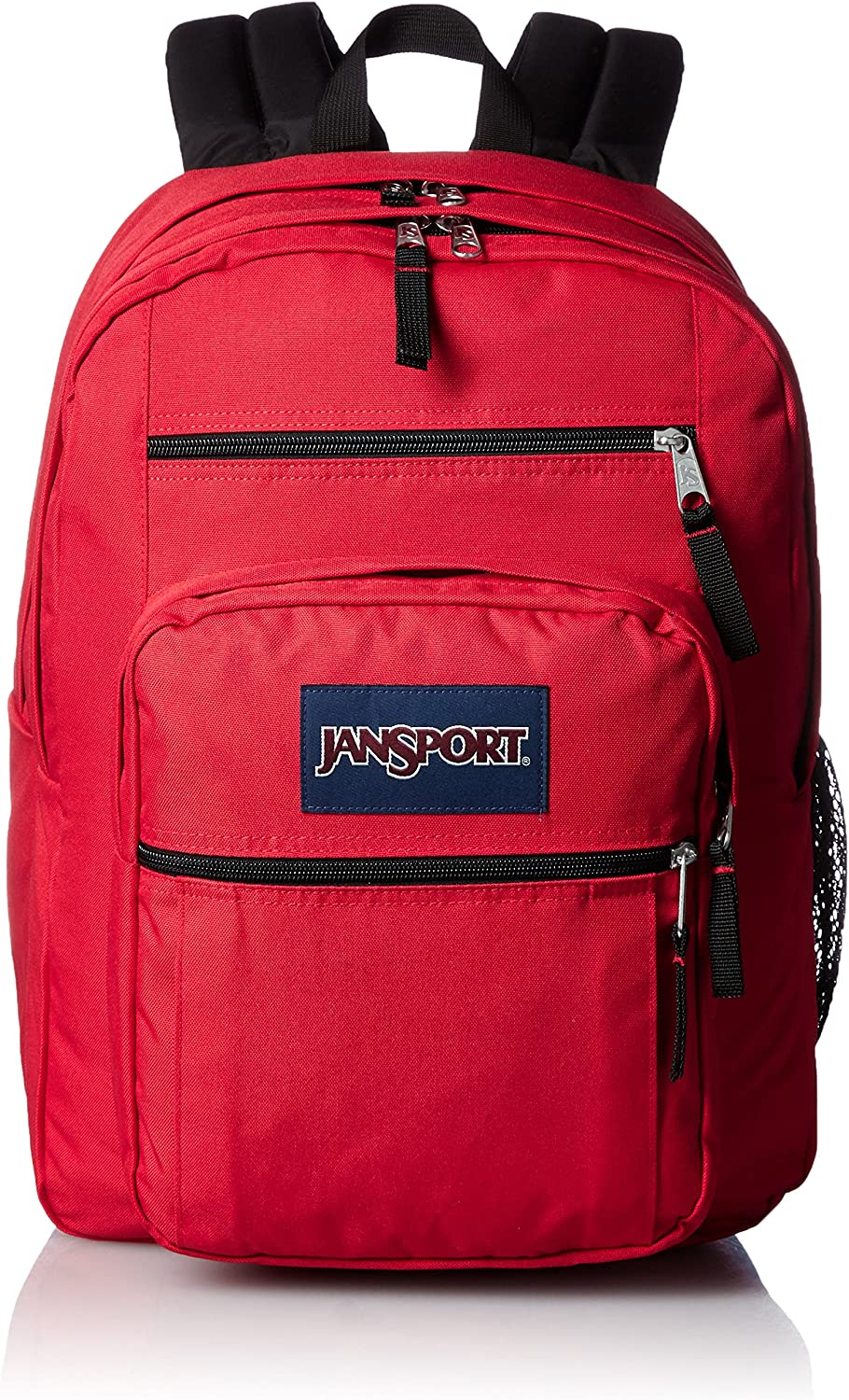 JanSport Rucksack Big Student, red tape, 43x33x25, 34 liters, TDN7