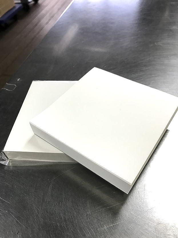 希望に満ちたビット収容する【2冊入り】真っ白なブロックメモ(無地)