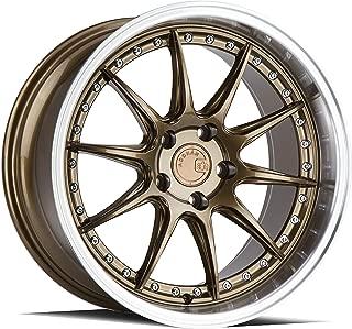 AodHan DS-07 Wheel - Bronze w/Machined Lip: 18x9.5 Wheel Size; 5x114.3 Lug Pattern; 73.1mm Hug Bore; 22mm Off Set.