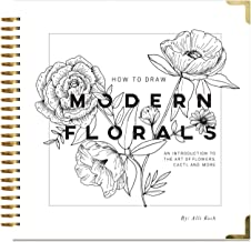 draw flowers book