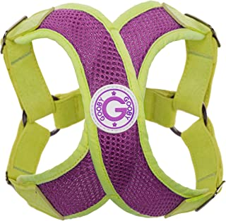 Gooby Perfect Fit X Step-In Harness, Small, Purple