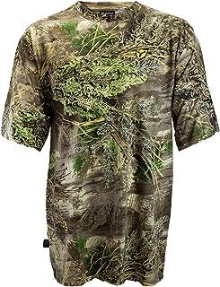 Scent Blocker Cotton Short Sleeve T Shirt Shield Series, Lightweight Odor Control, Men