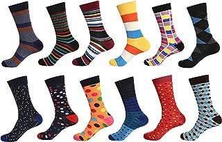 12 Pairs Men Dress Socks
