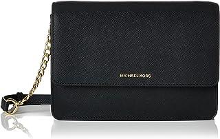 0f4e25176cdd Michael Kors Women s Large Daniela Saffiano Crossbody Leather Cross Body Bag