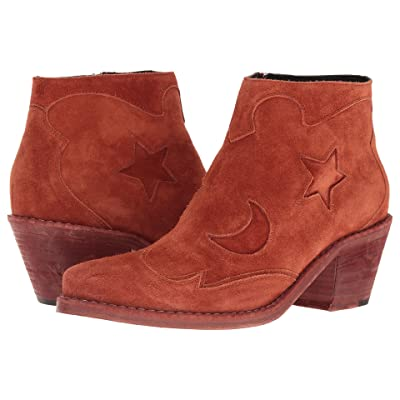 McQ Solstice Zip Boot (Rust) Women