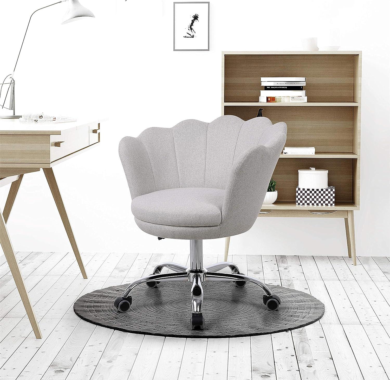 Evazory Swivel Shell Chair Miami Oakland Mall Mall for Modern Leisu Bedroom Room Living