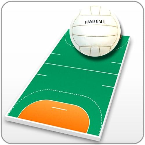 Handball Coach's Clipboard