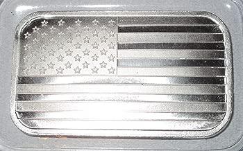 American Flag silvertown Silver bar .999