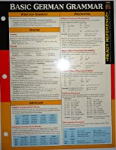Basic German Grammar Ready Reference (German and English Edition)