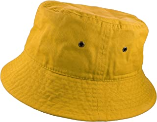 100% Cotton Packable Fishing Hunting Summer Travel Bucket Cap Hat