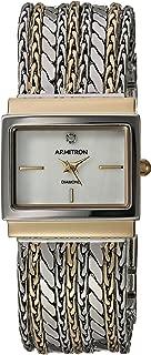Armitron Women's 75/5537MPTT Diamond-Accented Two-Tone Multi-Chain Bracelet Watch