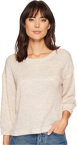 Splendid - Shirred Sleeve Top