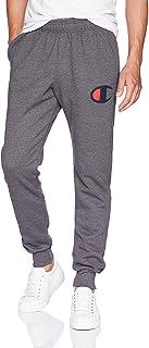 Champion Mens GF22H Graphic Powerblend Fleece Jogger Sweatpants