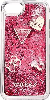 """[ゲス] iPhone 8 HARD CASE""""HEARTS""""GLITTER [並行輸入品]"""