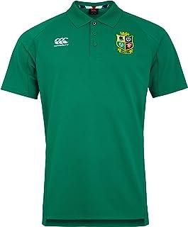 Canterbury Men's British and Irish Lions Rugby Pique Polo Shirt