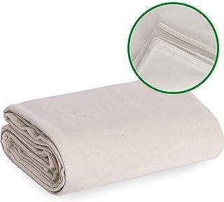 Drop Cloth Canvas Drop Cloth 6x9 Canvas Tarp Canvas Fabric Drop Cloth Curtains Drop Cloths for Painting Painters Drop Clot...