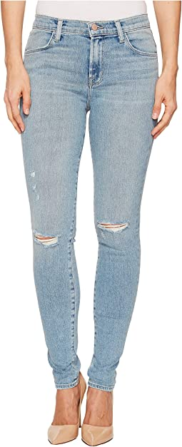 J Brand Maria High-Rise Skinny in Surge Destruct