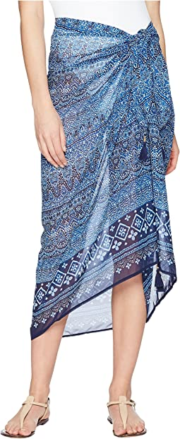 Tommy Bahama Indigo Cowrie Pareo Cover-Up
