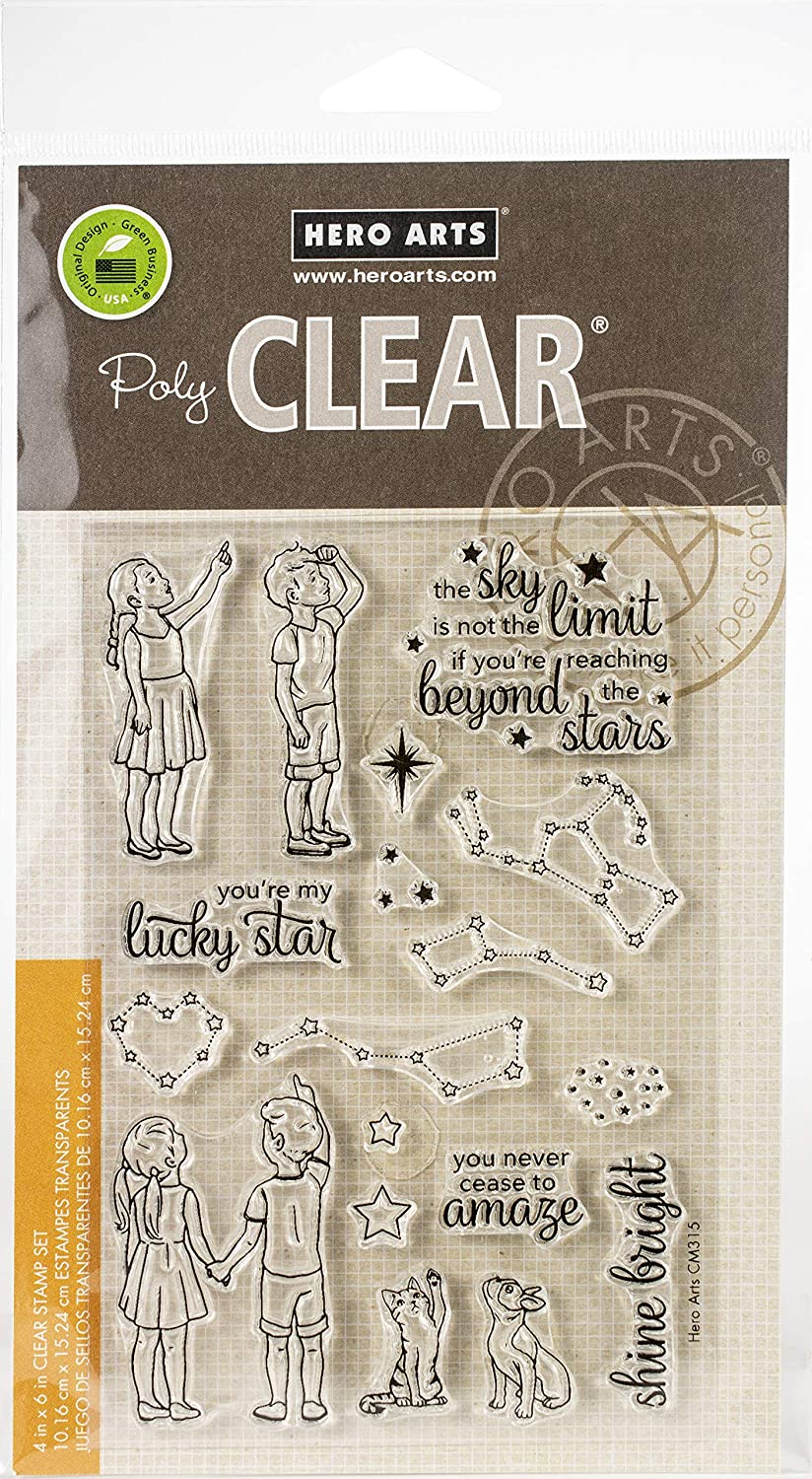 HERO ARTS Clear STMP Lucky Star, One Size
