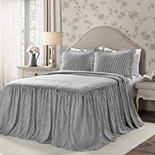 Best black and white ticking bedspread Reviews
