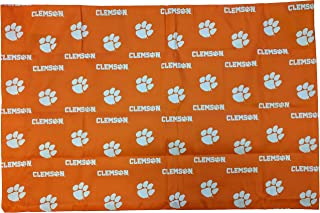 clemson pillow case