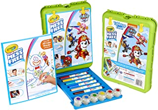 Crayola Color Wonder Travel Esel Paw Patrol Pages with Bonus Pages, Markers and Color Wonder Paint Coloring Travel Books a...