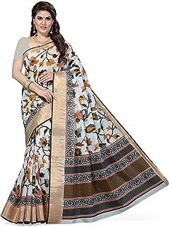 Rani Saahiba Poly Cotton Saree with Blouse Piece