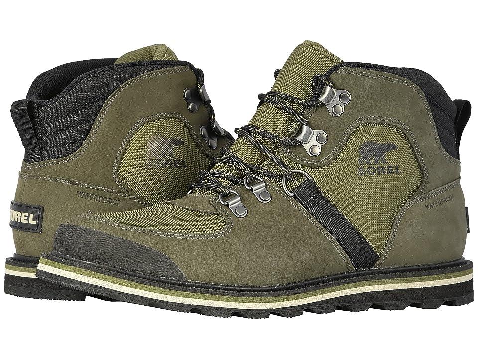 SOREL Madsontm Sport Hiker Waterproof (Hiker Green/Alpine Tundra) Men