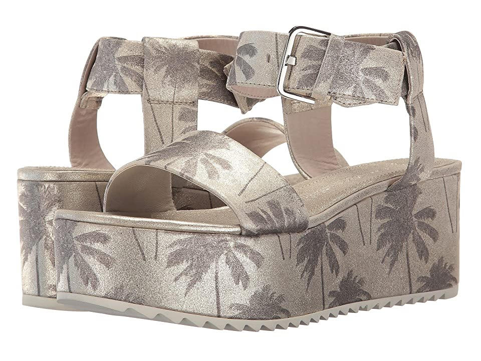 Kennel & Schmenger Palm Lux Flatform (Light Gold/Silver) Women