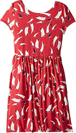 Sailboat Twist-Back Dress (Little Kids/Big Kids)