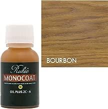 Rubio Monocoat Oil Plus 2C-A Sample Wood Stain Bourbon 20ml