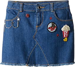 Little Marc Jacobs - Denim Skirt (Little Kids/Big Kids)
