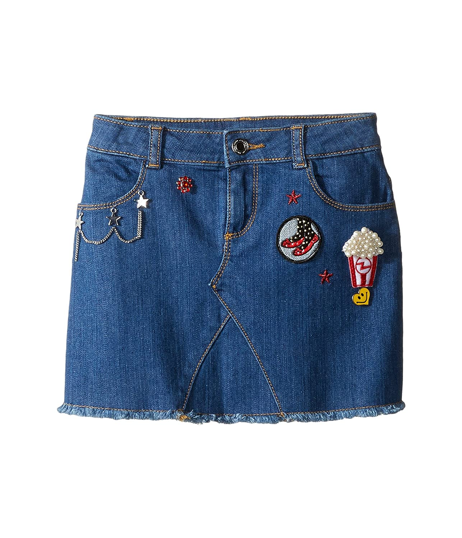 [マークジェイコブス] Little Marc Jacobs レディース Denim Skirt (Little Kids/Big Kids) スカート [並行輸入品]